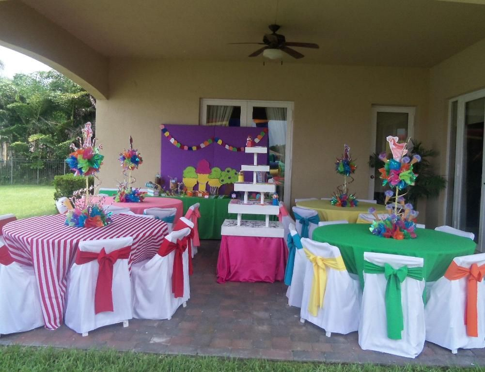 Charming Candyland Themed Decorating Ideas Part - 12: Candyland Decoration Ideas Are Basically A Decoration For A Party  Especially Birthday Party For Kids Featuring Candies Or Chocolates As The  Main Attraction ...