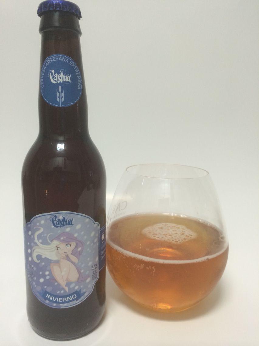 Cerveza Castua, 4 Estaciones Invierno. Estilo Belguian Dubbel, en botella de 33 cm.