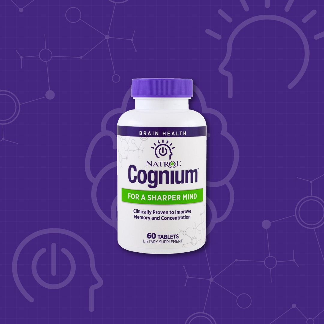 Natrol Cognium Is The Only Brain Health Supplement Backed By 9