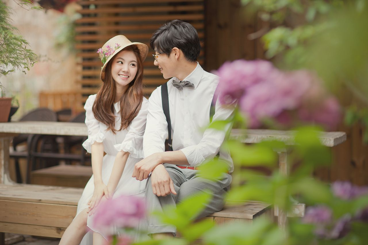Korea PreWedding Casual Dating Snaps, Seoul Pre