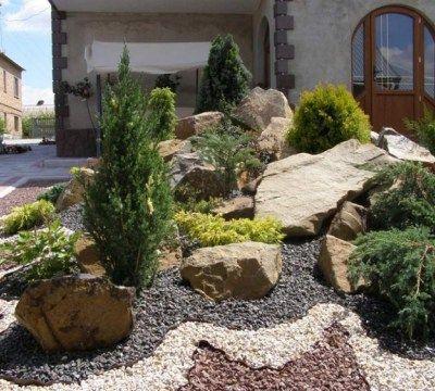 Vorgarten Steingarten #LavaHot   ifttt/2nnQet4 Haus Design