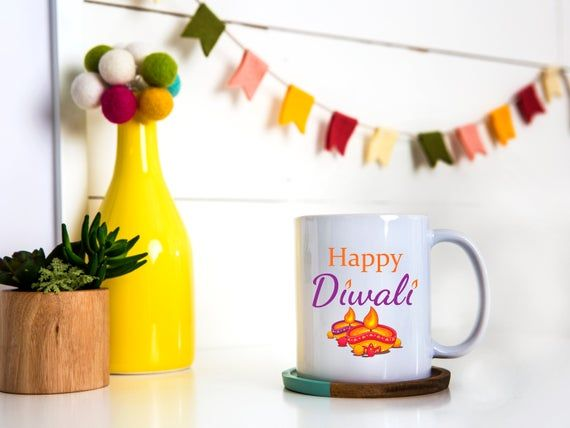 Happy Diwali | Diwali Greetings | Diwali Mug | Diwali Celebration | Diwali Gift | Festival of Lights | Deepavali
