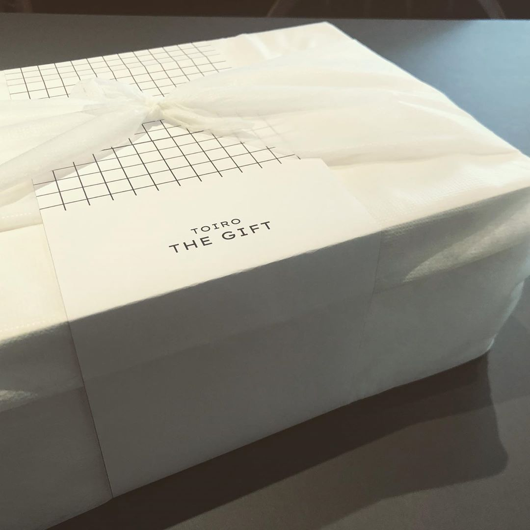 TOIRO THE GIFTのギフトラッピングは風呂敷と掛け紙で!