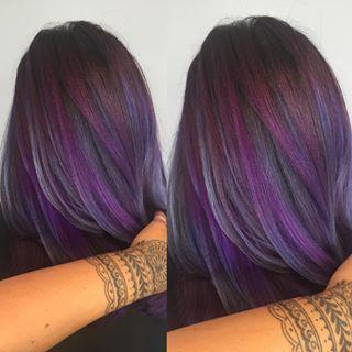 Purple Highlights Hair Pinterest Hair Purple Hair And Hair