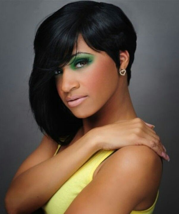 27 Piece Hairstyles For Black People Pincherita On My Hair Is Laid Like Pinterest  Black