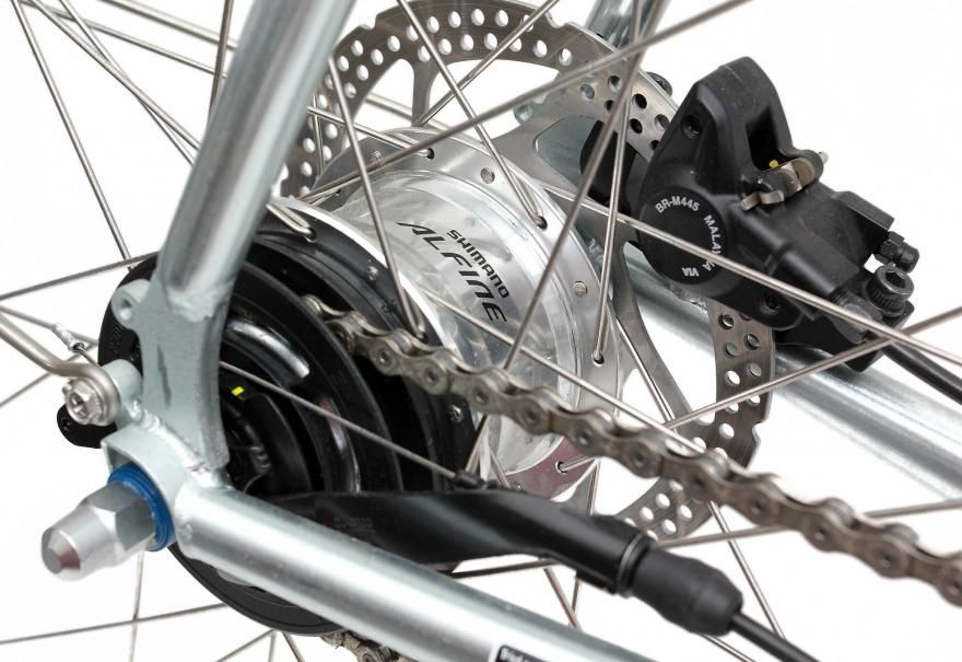 Shimano Alfine 11 Hub Gear And Shifter Bisiklet