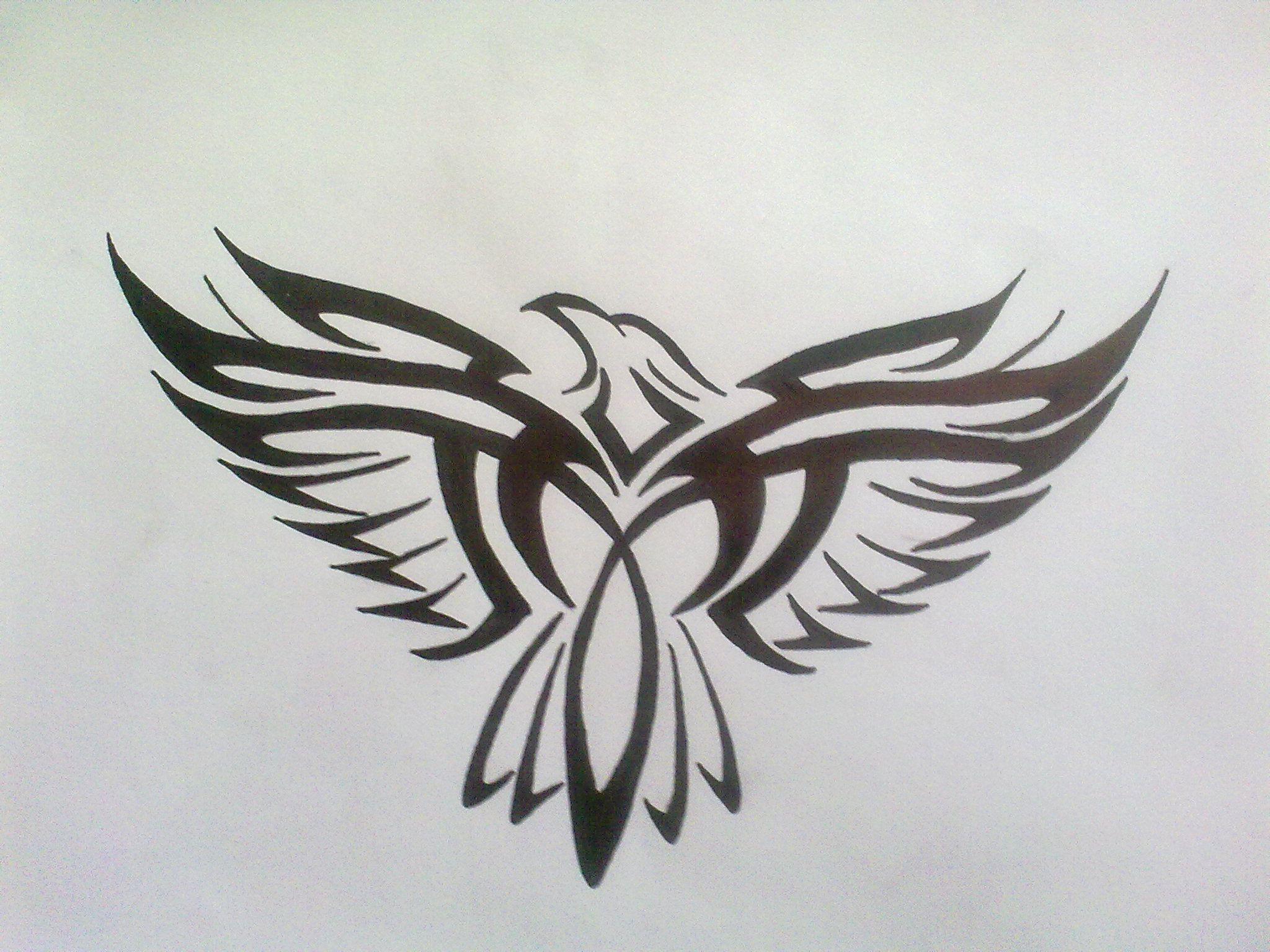 Tribal Eagle Tattoo By Bogi90 On Deviantart Tribal Eagle Tattoo Eagle Tattoo Tribal Tattoos
