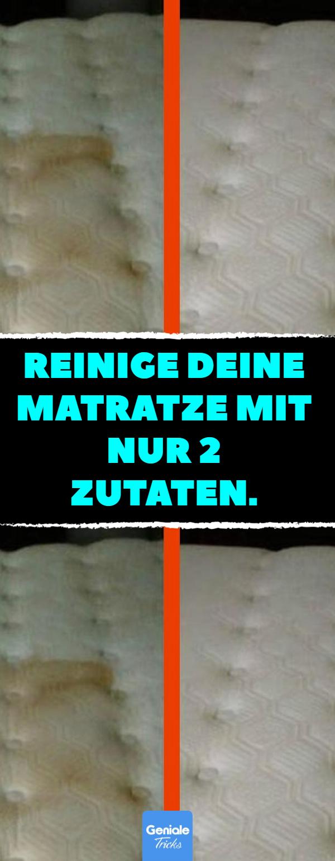 Reinige deine Matratze mit nur 2 Zutaten. #schlafzimmer #bett ...
