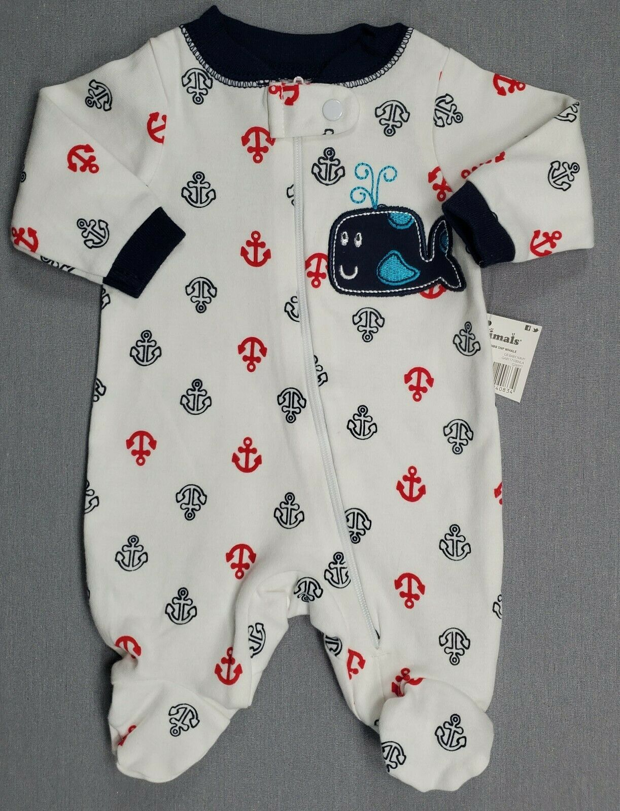 Baby Layette Jumpsuit Baby Bodysuit Unisex Baby Infant Baby Clothes Footed Sleep
