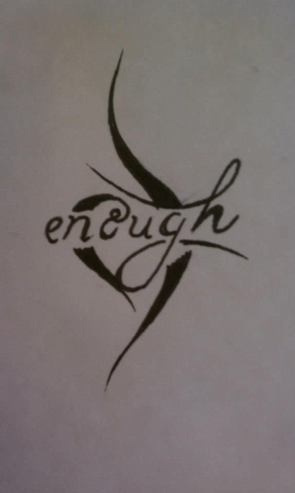Neda enough this looks cool i totally want to take a for Eating disorder symbol tattoo