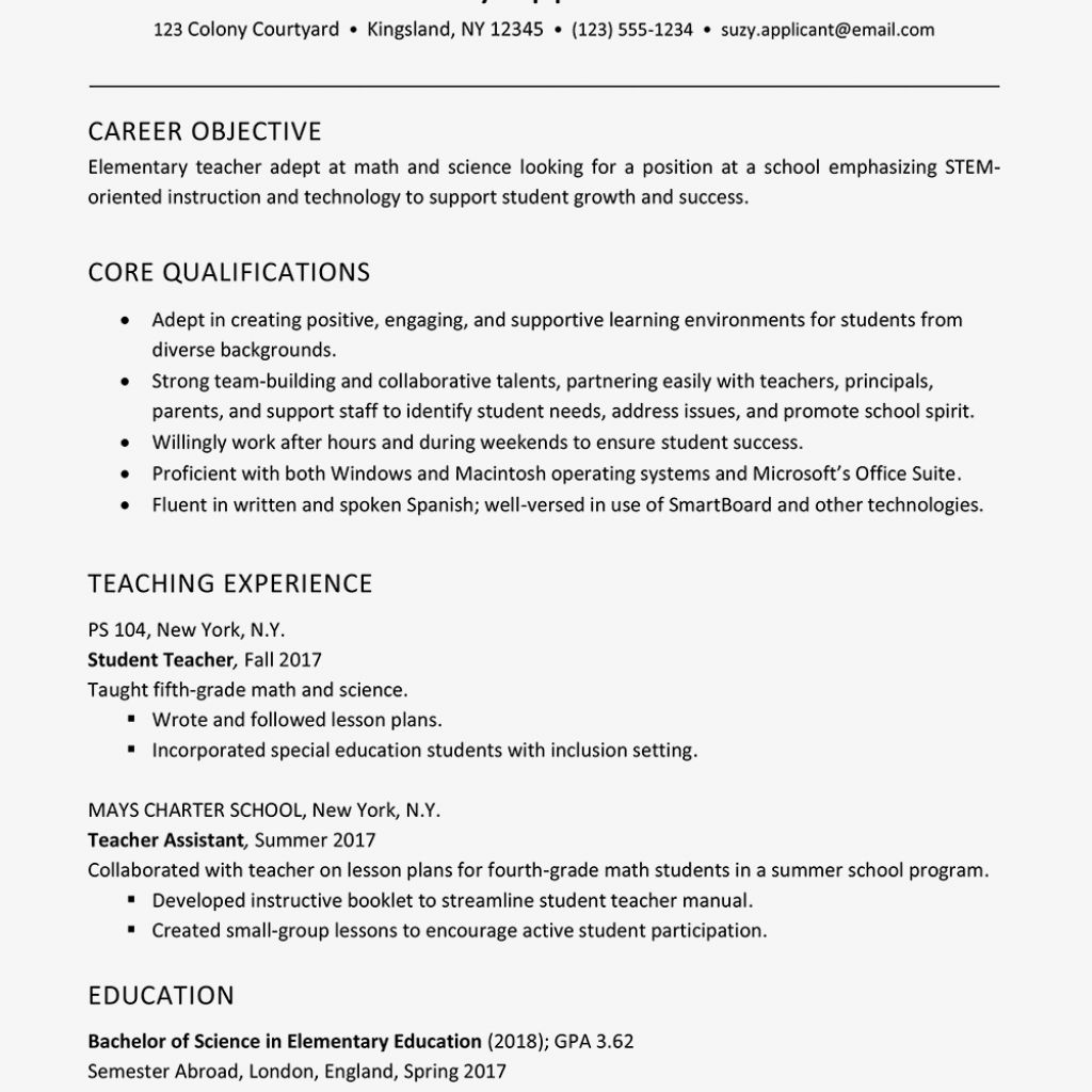 Resume For A Teacher 2021 Teacher Resume Examples Teacher Assistant Jobs Education Resume