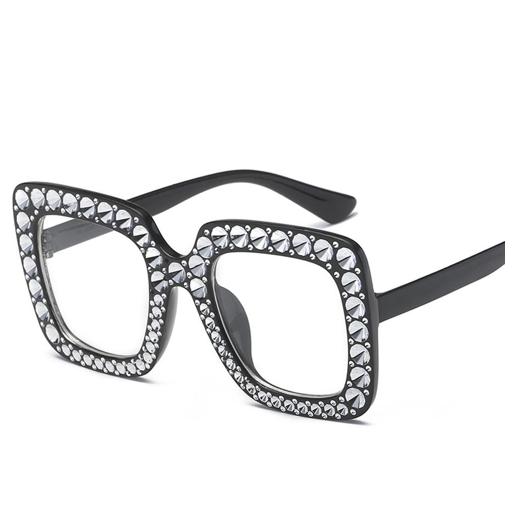 8852e8cfa10 Make Order Price Reduce 30% Women Square Sunglasses Ladies Brand Designer  Luxury rhinestone Sun Glasses