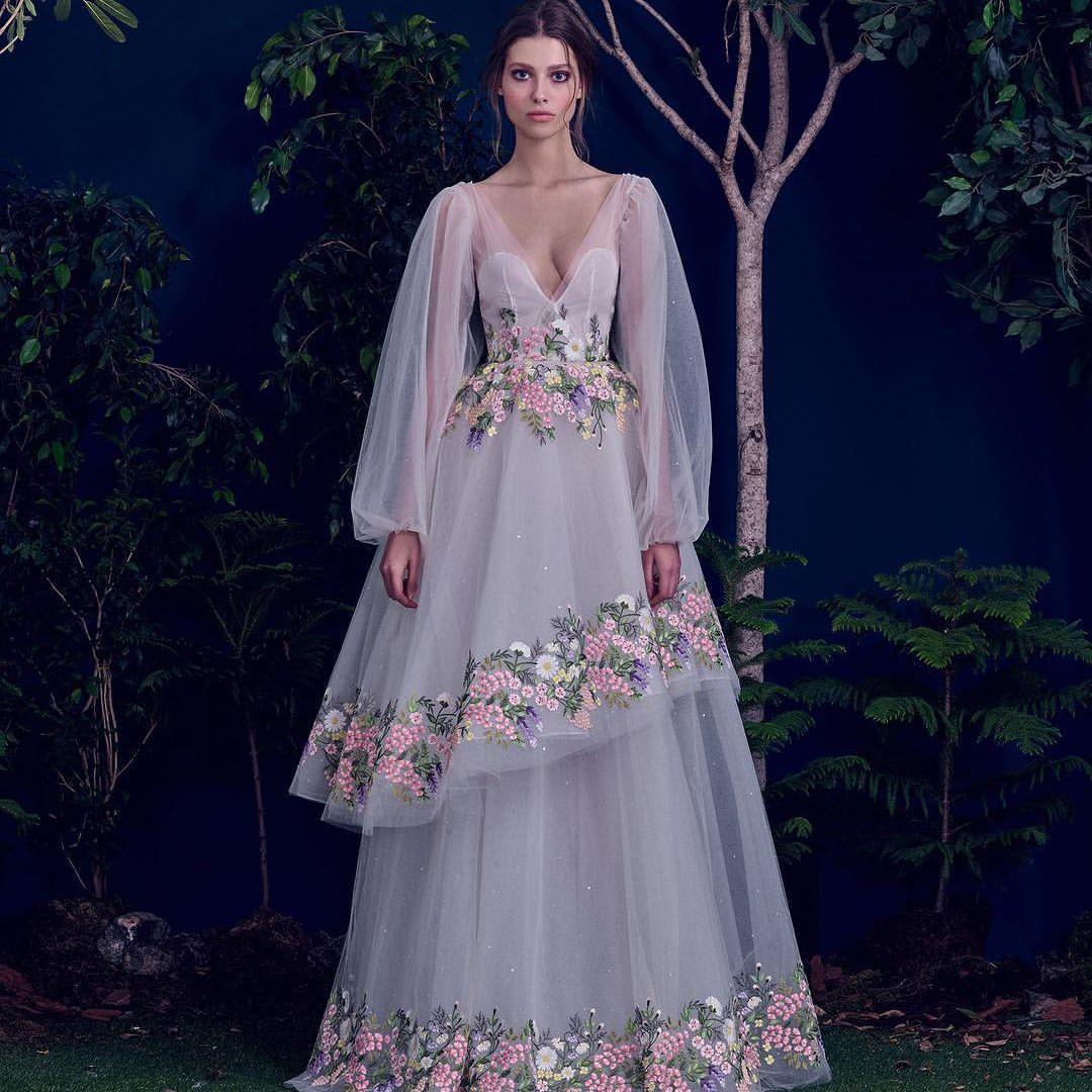 Dress for wedding party female  HamdaAlFahim FW  Wedding GownDressVeil Inspirations