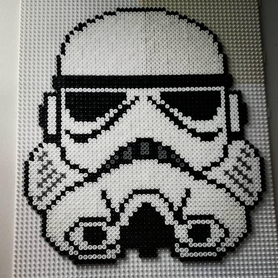 Stormtrooper Star Wars Hama Perler Beads By Color Shock Hama