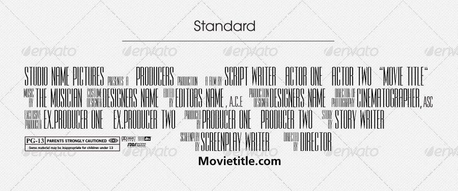 Movie Poster Credits Template Fresh Jinwook S Billing Block Template By Jinwook Billing Block Credits Fresh Jinwook Movie Poster Template En 2020