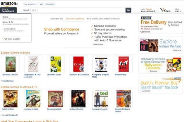 Amazon launches its India marketplace