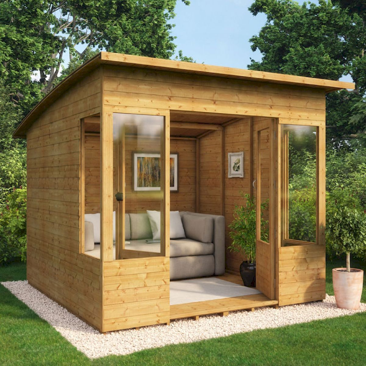 90 Beautiful Summer House Design Ideas And Makeover ...