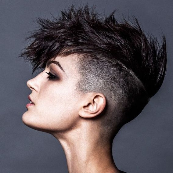 mohok hair style best 25 mohawks ideas on mohawk braid updo 6745