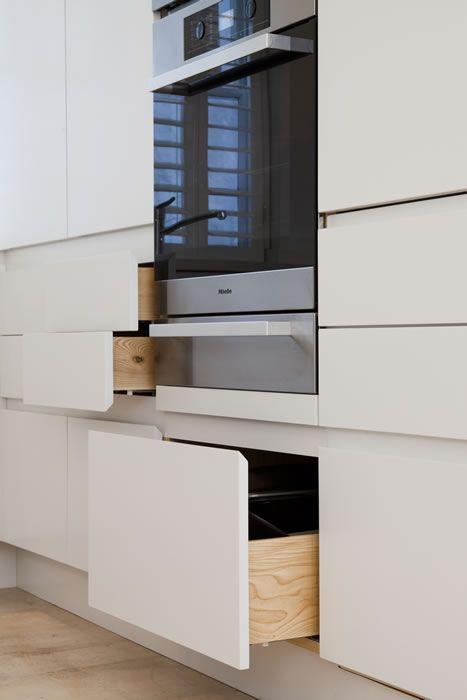 Drawers With Hidden Handles Kitchen Ideas In 2019 Kitchen