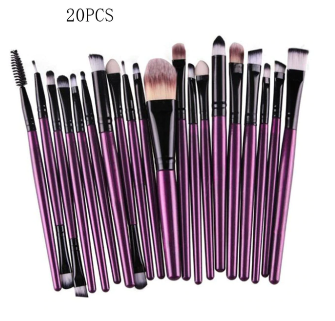 Photo of 20 Pc set Makeup Brushes