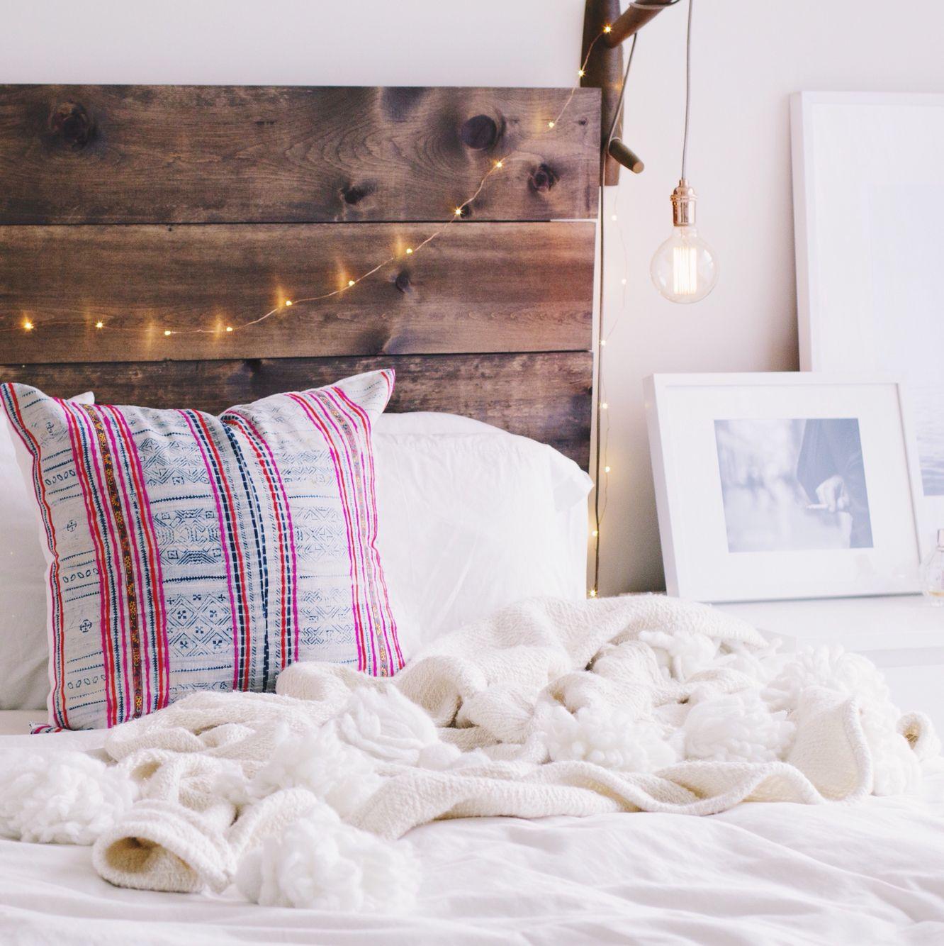 The Luna Bohemian Throw Pillow Lindsay Marcella Design