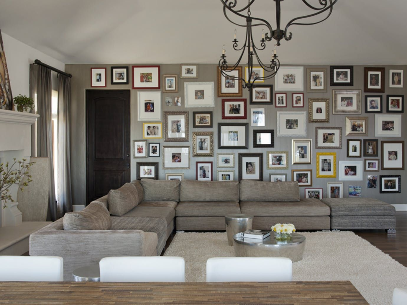 los gatos residence great room family room contemporary eclectic by lizette marie interior design - Interior Design Los Gatos