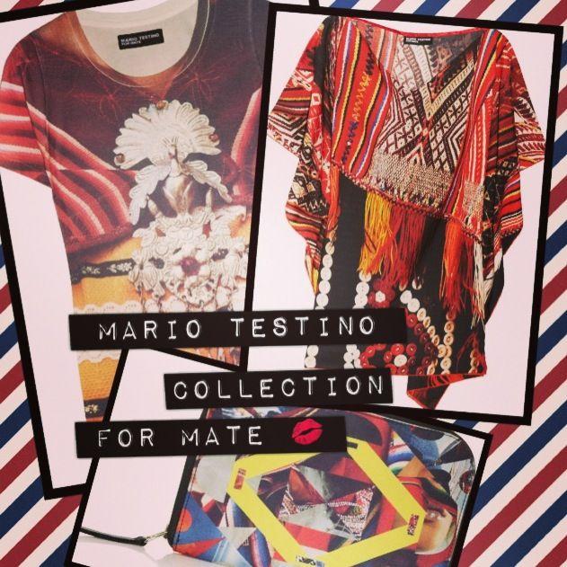 Mario testino collection for Mate