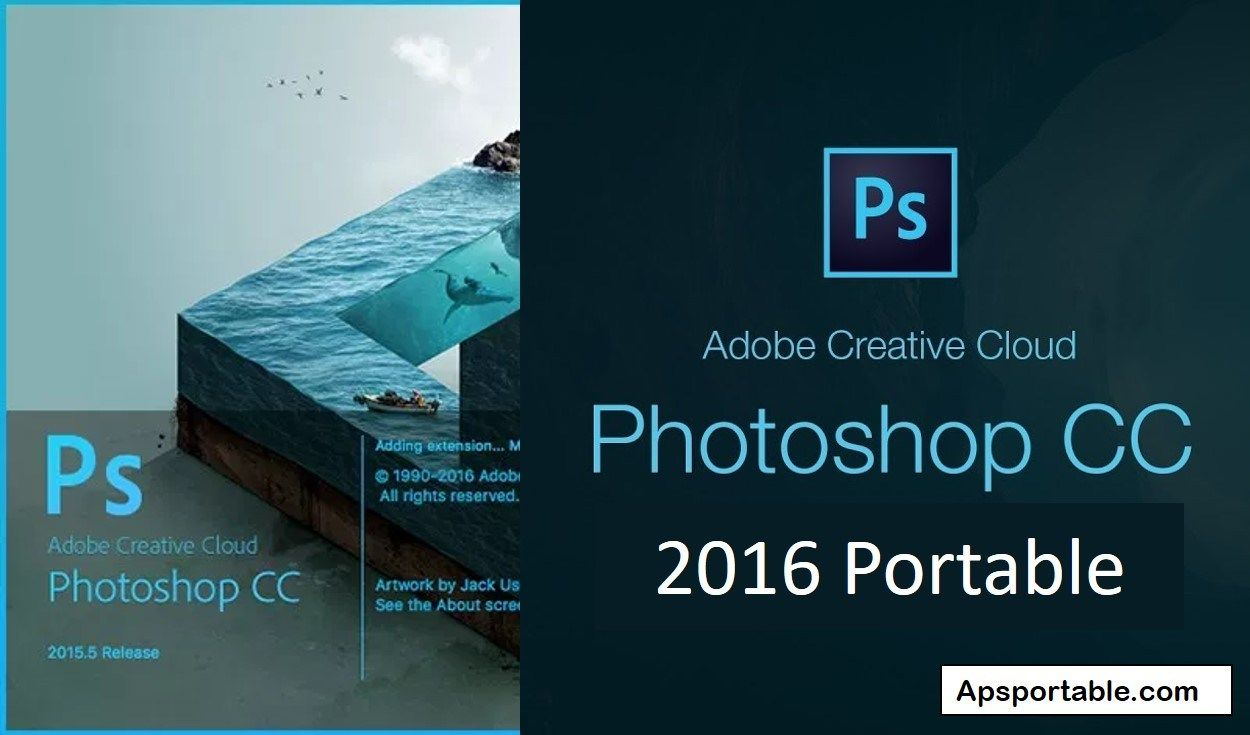 Download Adobe photoshop CC 2016 portable for free  Download
