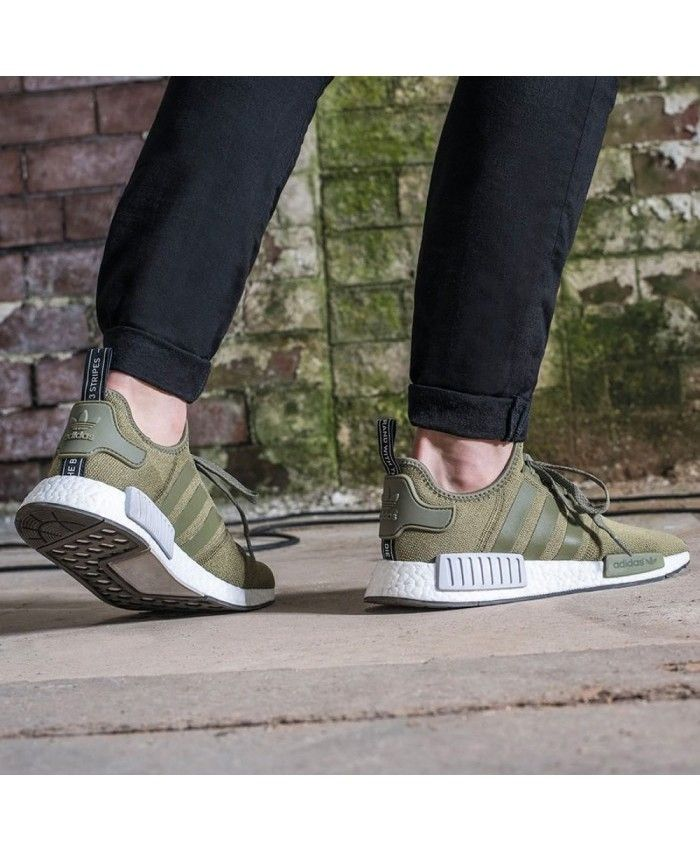 adidas nmd vert kaki femme