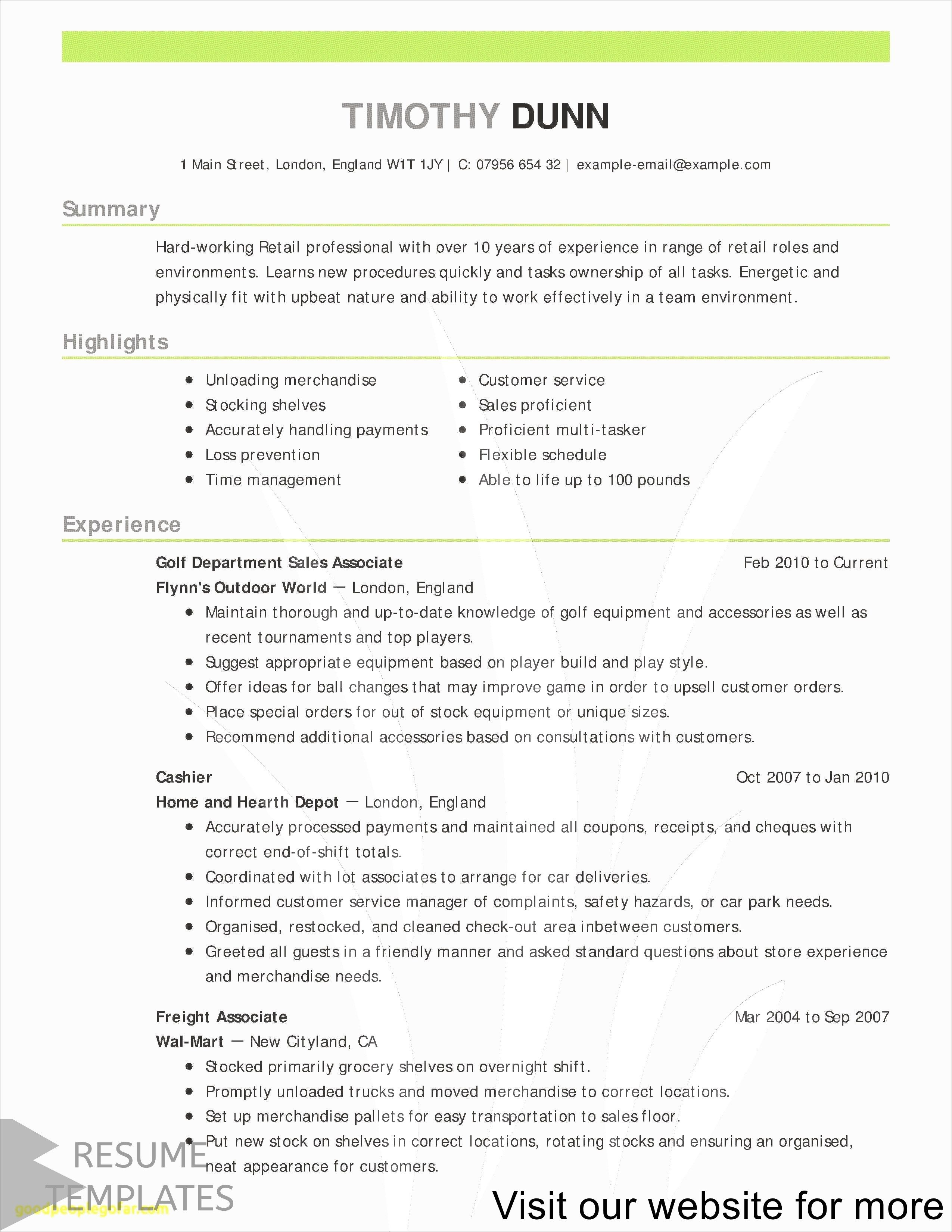 Resume Builder Software Professional In