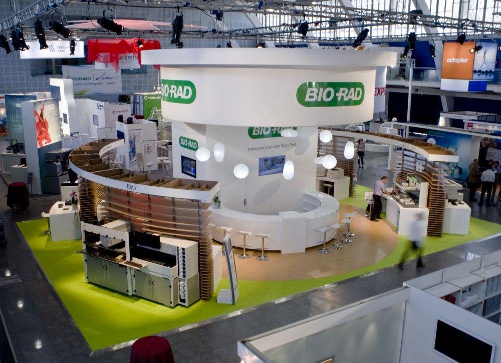 Conception stand d 39 exposition salon isbt cr ation stand d 39 exposition pinterest for Conception stand de foire