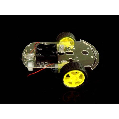 2WD Smart Car Chassis Tracing Car With Encoder Battery Box