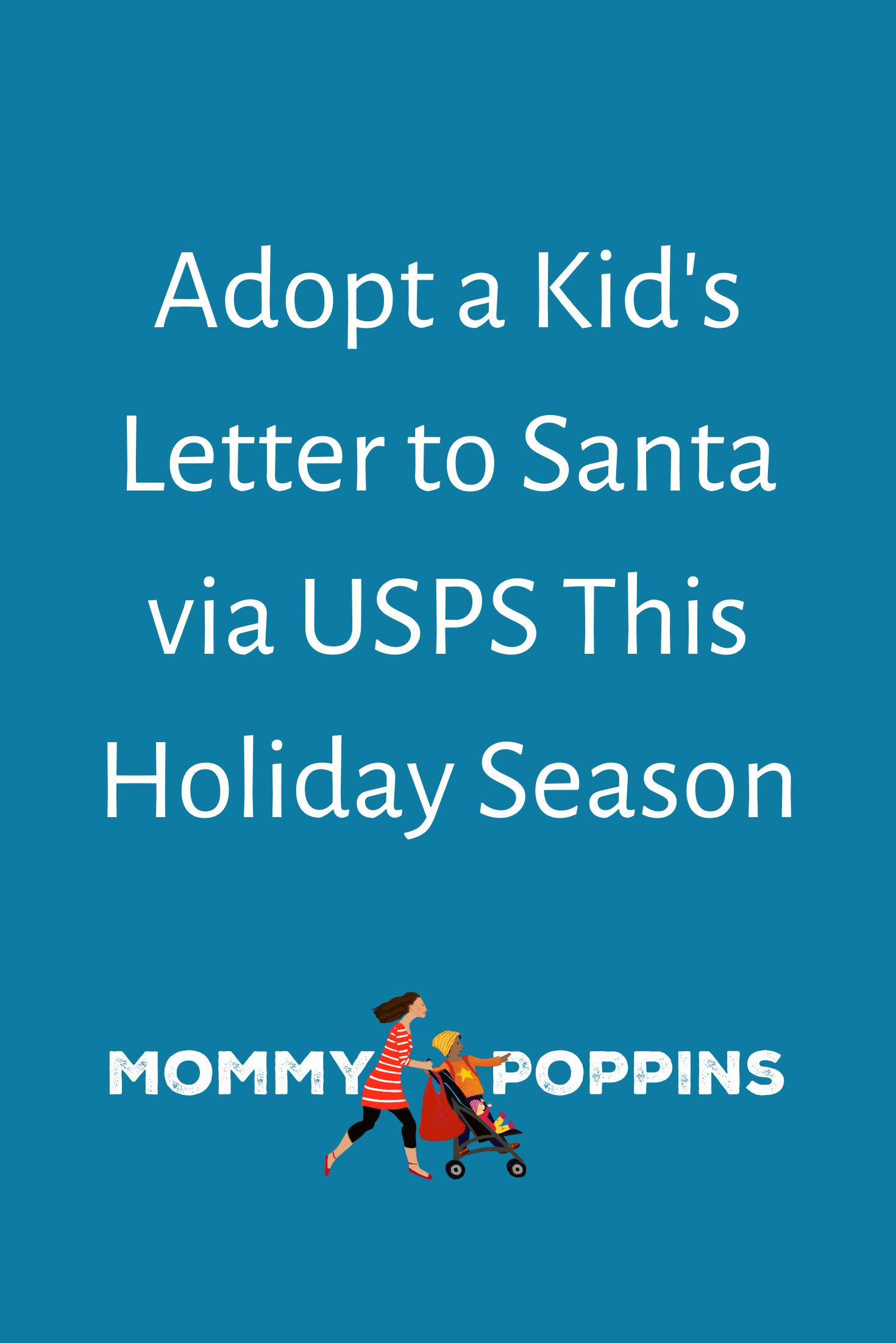 Adopt a Kid's Letter to Santa via USPS This Holiday Season