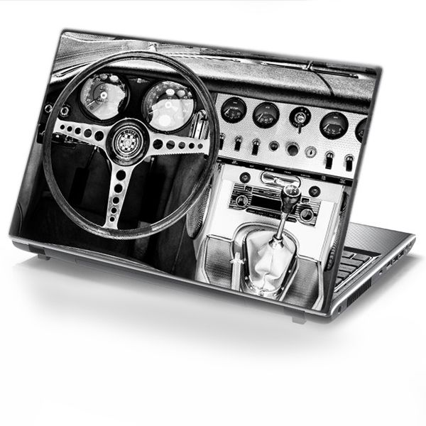 Laptop Cover RETRO DRIVE by Sticky!!!