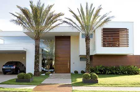 Fachadas de casas modernas pequenas grandes bonitas for Fachada de casas modernas grandes