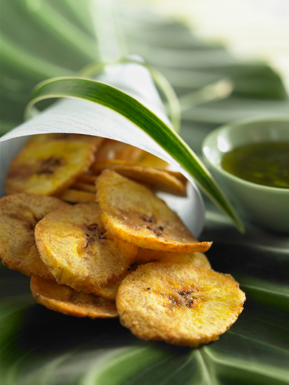 Fried Plantain Chips Chifles Recipe Recipe Plantain Chips Fried Plantain Chips Recipe Plantains Fried
