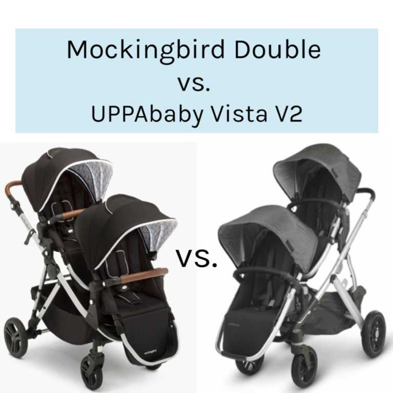 Mockingbird Double vs. UPPAbaby Vista V2 Stroller