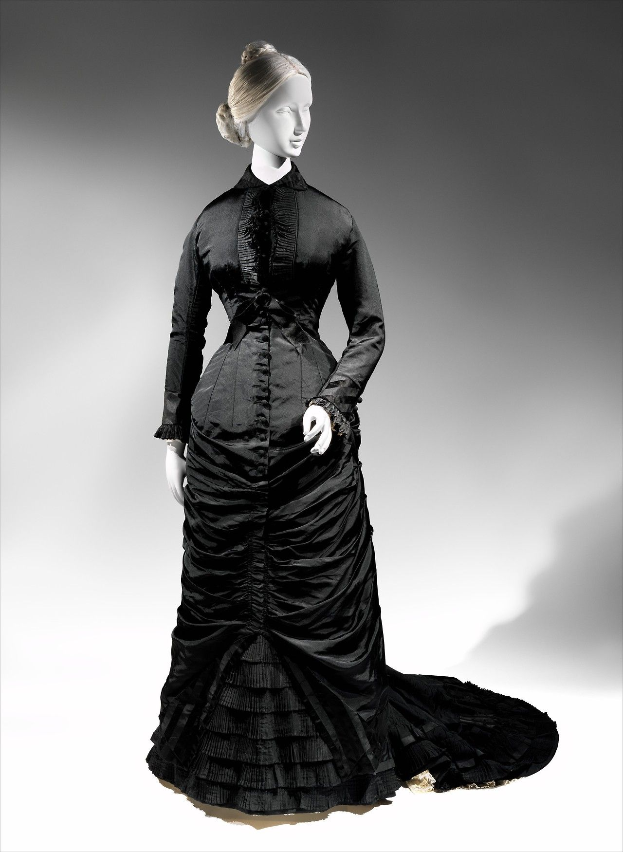 Afternoon Dress 1876-78 Metropolitan Museum Of