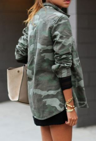 Camo is in this fall! Shop the look from your favorite brands on Studentrate and use your student discount