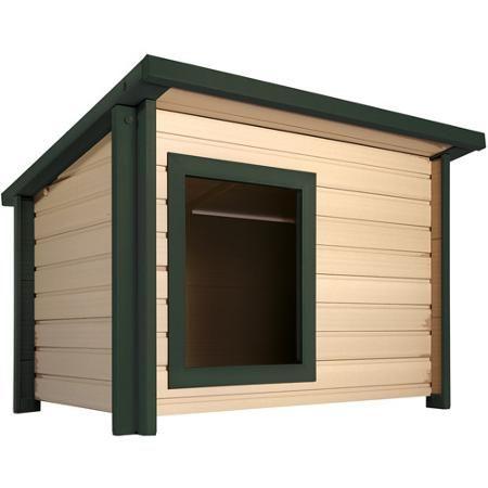 Ecoflex Lodge Style Dog House X Large Walmart Com Outdoor Dog House Large Dog House Dog House