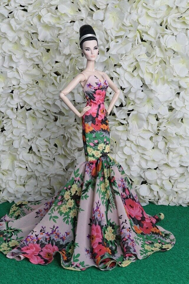 nuface barbie silkstone by t.d.fashion NEW dress gauze for  Fashion royalty