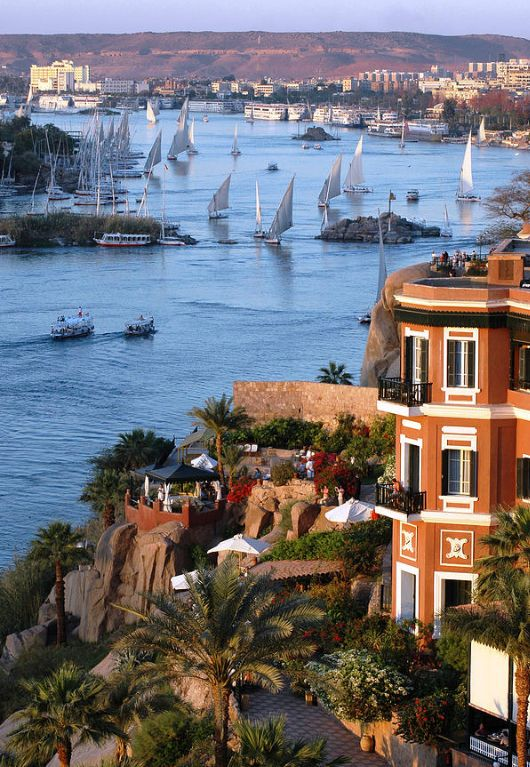 Nile River in Aswan, Egypt | Travel & Places in 2019 ...