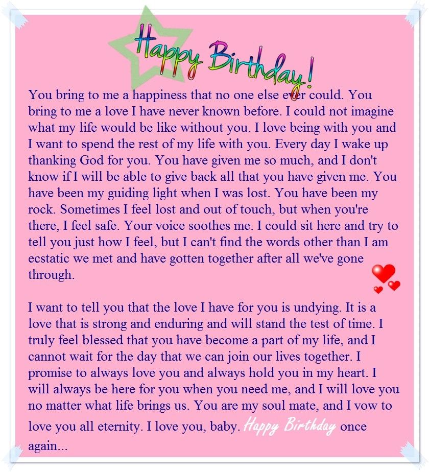 Best Friend Birthday Wishes Letter.Pin By Boss Bae On To Baeq Birthday Letter For Girlfriend