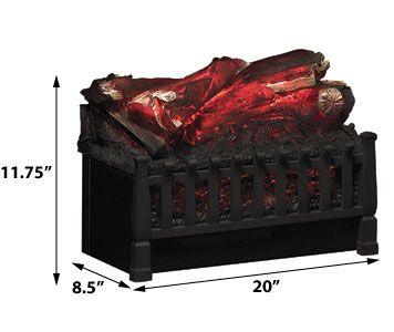 Duraflame 20 In Electric Fireplace Log Set Dfi020aru Fake