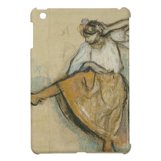 Russian Dancer by Edgar Degas iPad Mini Cases