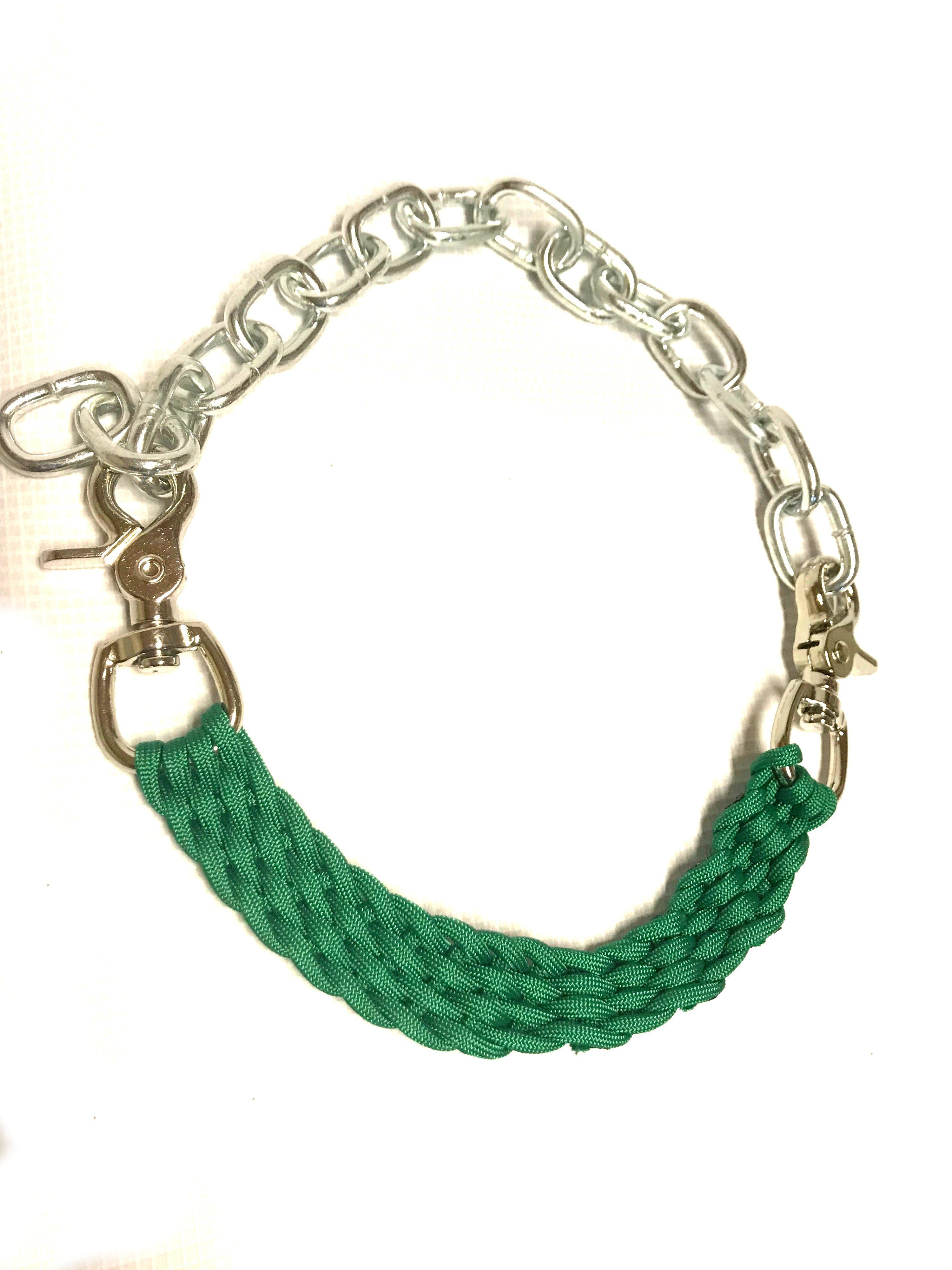 Goat Collar With Chain Show Goat Collar Beaded Bracelets Beaded Necklace Show Goats