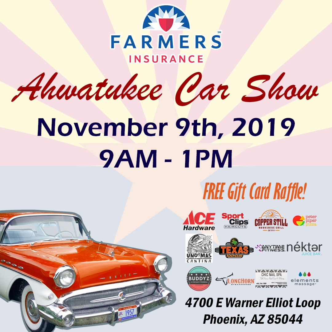 Come See Me At The Ahwatukee Car Show This Saturday From 9am 1pm