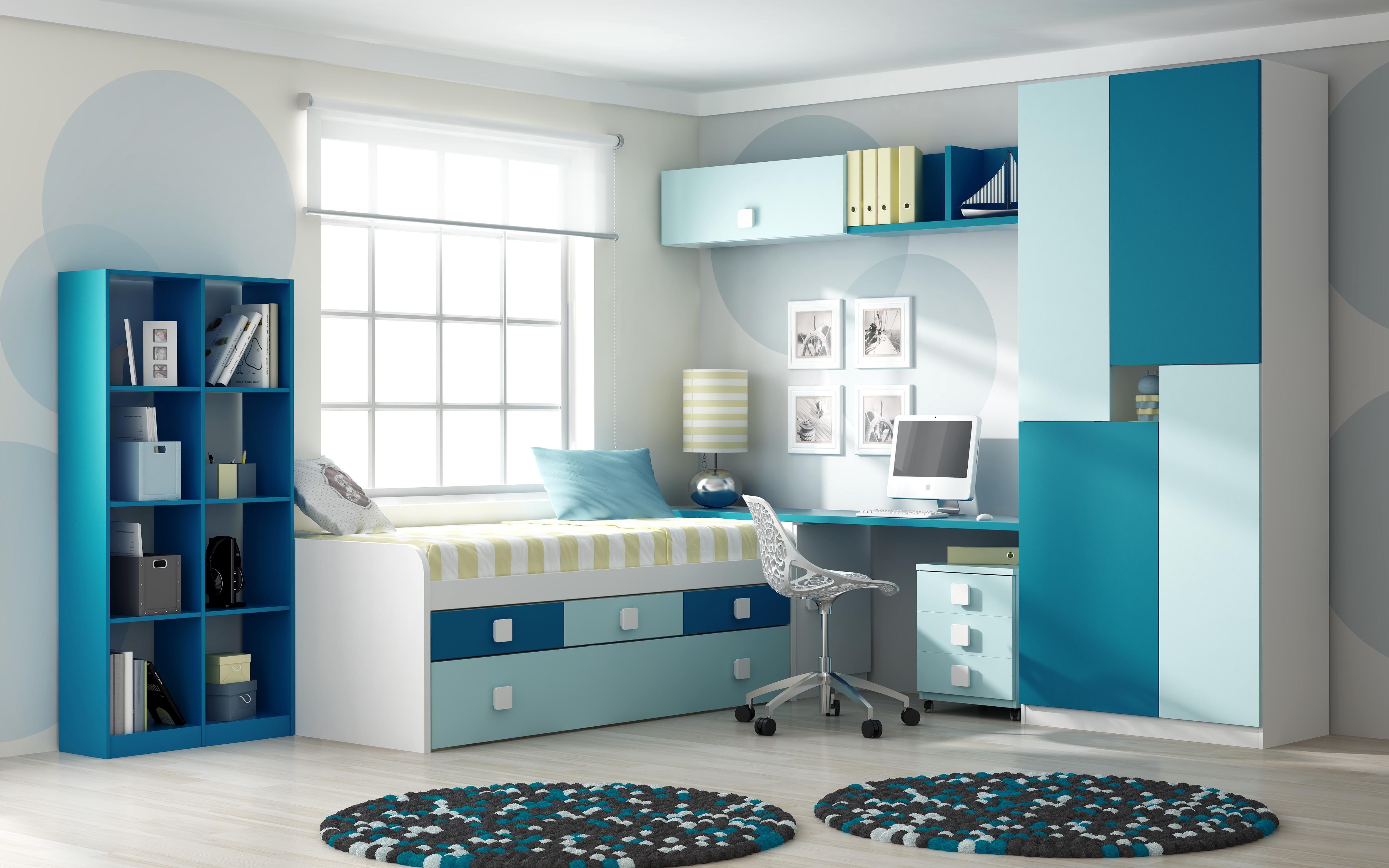 Dormitorio infantil madridecor aprovechamos los espacios for Juego de dormitorio infantil