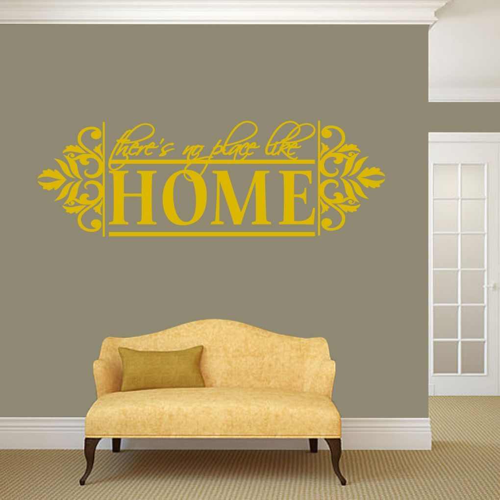 Sweetums No Place Like Home Wall Decal - 60\
