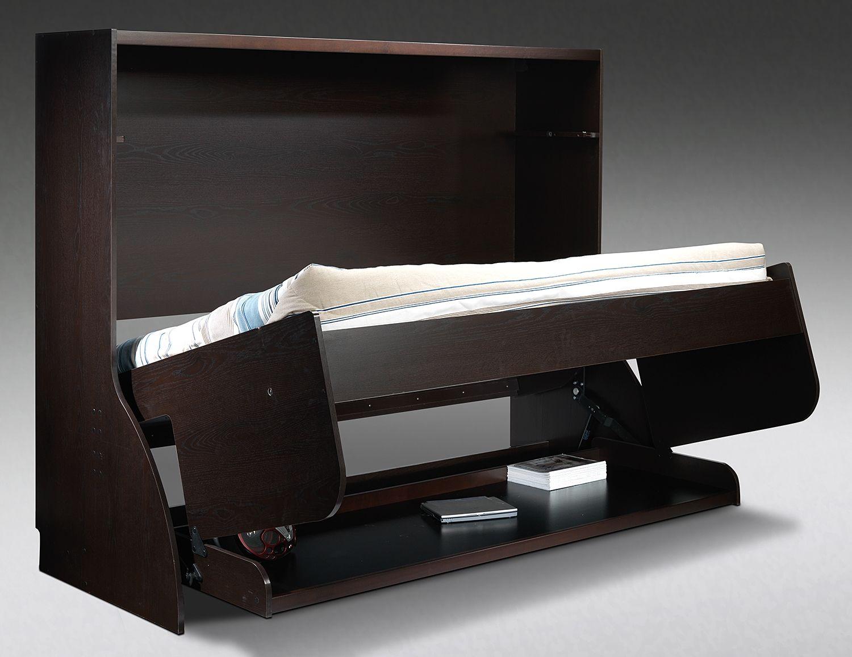Oscar Bedroom Hidden Bed Desk Leons Furniture